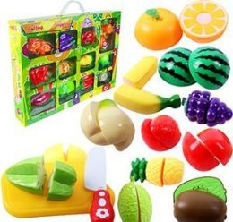 6 Units of 26 Piece Cutting Veggies Sets - Toy Sets