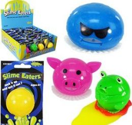 48 Units of Slime Eaterz Slime Sucking Toys - Slime & Squishees