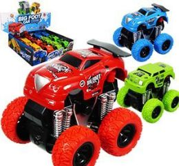 12 Units of Friction Powered Big Foot Cars - Cars, Planes, Trains & Bikes