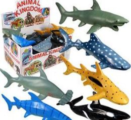 72 Units of Animal World Vinyl Whales And Sharks - Animals & Reptiles