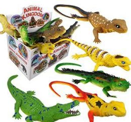 48 Units of Animal World Vinyl Reptiles - Animals & Reptiles