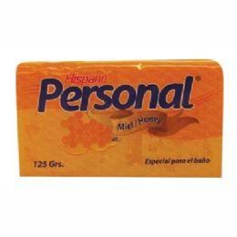 96 Units of HISPANO BODY BAR SOAP MIEL (HONEY) 4OZ - Soap & Body Wash