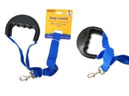 72 Units of Dog Leash Comfort Grip Handle - Pet Collars and Leashes