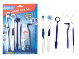144 Units of Dental Care Kit 8 Piece - Toothbrushes and Toothpaste