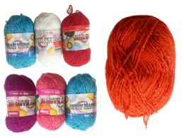 96 Units of Yarn Tinsel Assorted Color - Sewing Supplies