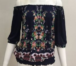 72 Units of Floral Blouse - Womens Fashion Tops