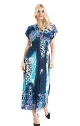 36 Units of Plus Size Maxi Dress Assorted Colo - Womens Sundresses & Fashion