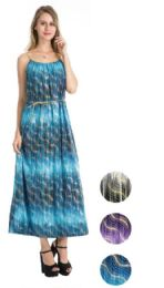36 Units of Plus Size Maxi Dress Assorted Color - Womens Sundresses & Fashion