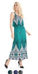 36 Units of Plus Size Maxi Dress Popover Style - Womens Sundresses & Fashion