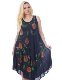36 Units of Rayon Floral Dress - Womens Sundresses & Fashion