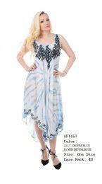 48 Units of Rayon Dress Denim - Womens Sundresses & Fashion