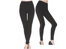 120 Units of WOMEN'S THICK FAUX FUR LINED LEGGING - Womens Leggings
