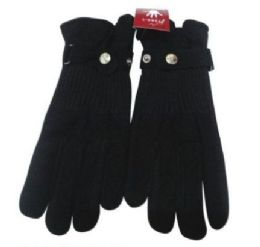 72 Units of Womens Black Gloves - Winter Gloves