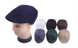 72 Units of Mesh Beret Hat - Fashion Winter Hats