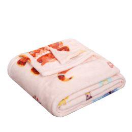 24 Units of Children's Boho Elephant Printed Fleece Blanket Size 50 X 60 - Fleece & Sherpa Blankets