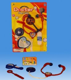 72 Units of Mini Doctor Set In Blister Card - Toy Sets