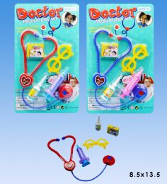 48 Units of Mini Doctor Set in Blister Card - Toy Sets