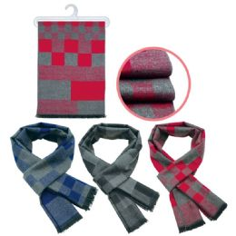 36 Units of Mens Stylish Winter Scarf - Winter Scarves
