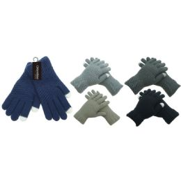 36 Units of Knit Unisex Touch Glove - Conductive Texting Gloves