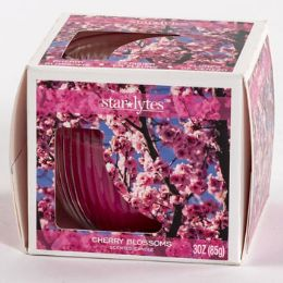12 Units of Candle Scented Cherry Blossoms - Candles & Accessories