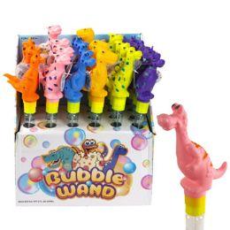 24 Units of Bubble Dinosaur Wand - Bubbles