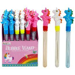24 Units of Bubble Wand Unicorn - Bubbles