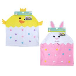 24 Units of Chair Cover Easter Decor - Easter