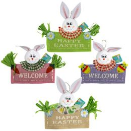 24 Units of Easter Bunny Standing Decor - Easter