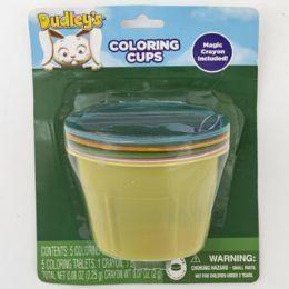 24 Units of Easter Egg Dye Kit Dudleys Vacuform 5 Color Cups - Easter