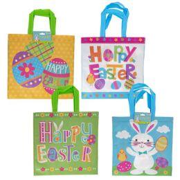 24 Units of Easter Egg Hunt Bag 2 Pack - Easter