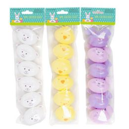 36 Units of Easter Egg Shaped Bunny Lamb And Chick - Easter