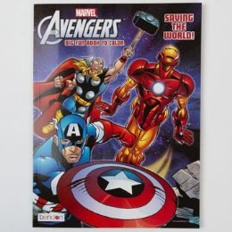 24 Units of Coloring Book Avengers Saving The World 24 Pc Display - Coloring & Activity Books