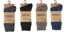 36 Units of Men's Wool Winter Crew Sock Size 10-13 - Mens Crew Socks