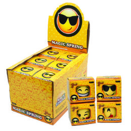 24 Units of Magic Spring Emoticon - Magic & Joke Toys
