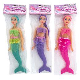 48 Units of Mermaid Toy Doll - Dolls