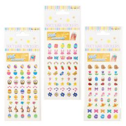 48 Units of Nail Stickers Easter - Easter