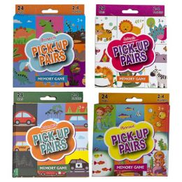 48 Units of Pick Up Pairs Memory Game - Card Games