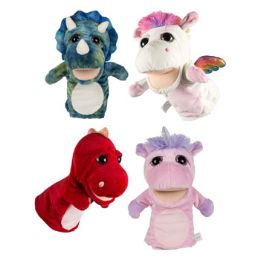 24 Units of Plush Deluxe Hand Puppet - Plush Toys