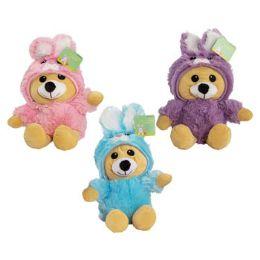 24 Units of Plush Stuffed Easter Bear - Easter