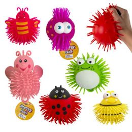 24 Units of Puffer Bug Squishy Toy - Slime & Squishees