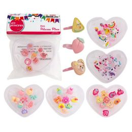 48 Units of Rings Dress Up Novelty Girly Party Favor - Easter
