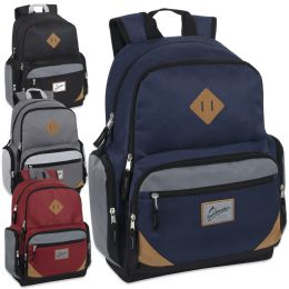 """24 Units of Trailmaker 19 Inch Duo Compartment Backpack with Laptop Sleeve - Backpacks 18"""" or Larger"""