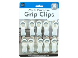 36 Units of 10 Pack MultI-Purpose Grip Clips - Clips and Fasteners