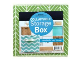18 Units of Collapsible Woven Fabric Storage Box - Storage & Organization