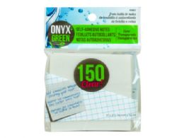 144 Units of 150 Pack 3 x 3 Self Adhesive Notes - Note Books & Writing Pads