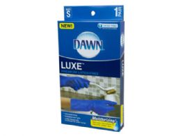 72 Units of Dawn Latex Free Luxe Gloves Size sm - Store