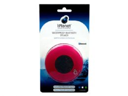 12 Units of Pink Water Resistant Bluetooth Speaker - Speakers and Microphones