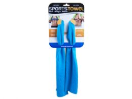 36 Units of Sports Towel 35 X 11 - Store