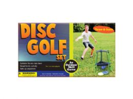 3 Units of ThroW-AnD-Score Disc Golf Set - Toy Sets