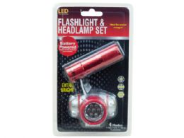 18 Units of Flashlight And Headlamp Combination Set - Lightbulbs